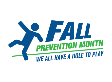November is Fall Prevention Month