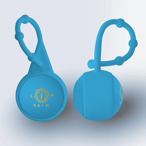 I-Balm - Light Blue w/ Carabiner: Berry Blue
