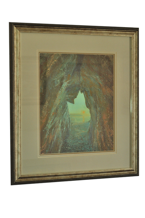 FROM THE CAVE ACRYLIC PAINTING