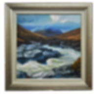 RIVER ETIVE SERIES: RAGE ON ACRYLIC PAINTING