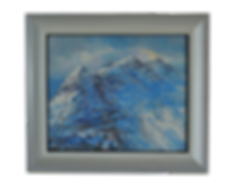 FROZEN MOUNTAIN (LIATHACH) ACRYLIC PAINTING