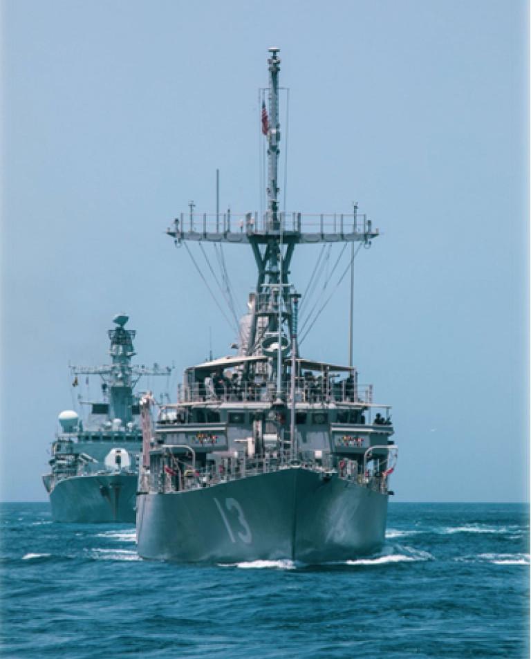 USS Dextrous MCM13