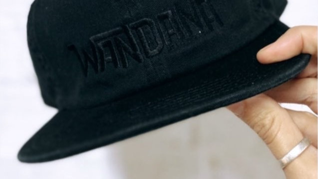 Embroided James Cap