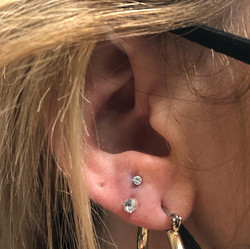 Stacked Earlobes