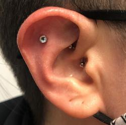 Ear Flat & Daith