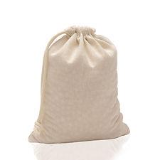 Saco de pano com cordão
