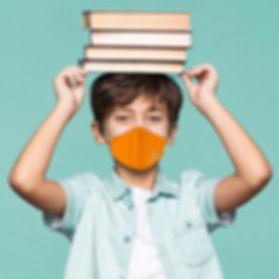 mascara social para criança