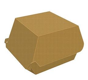 Caixa papel para hamburger