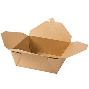 caixa papelão ecológica para alimentos