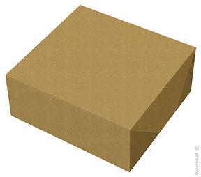 caixa bolos cartão