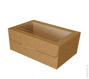 caixa cartão comida take away