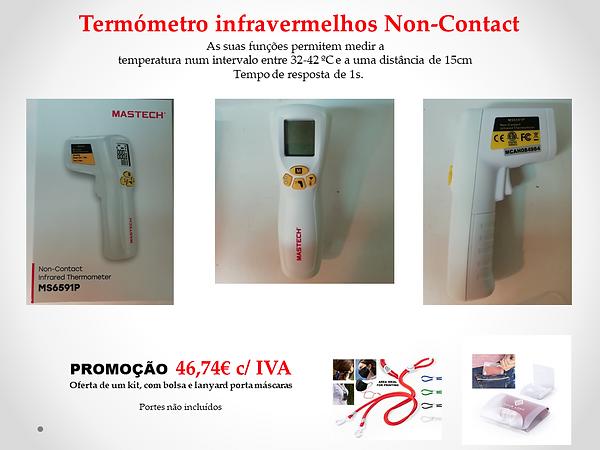 Promoção Termómetro Digital Infra vermel
