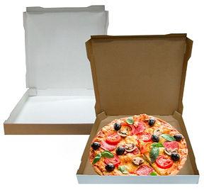 Caixa de pizza cartão