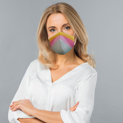 mascara social adulto impressa