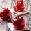 Thumbnail: Bougie gourmande pomme d'amour saint valentin