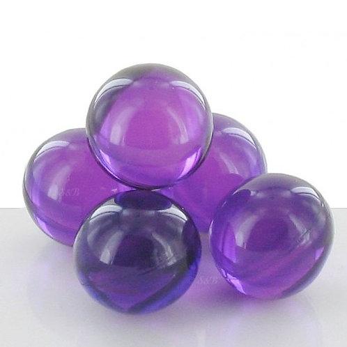 Perle de bain ronde nacrée parfum lavande
