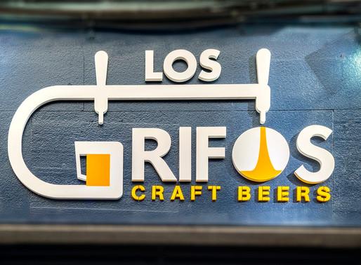 Nuevo diseño para 'Los Grifos. Craft Beers'
