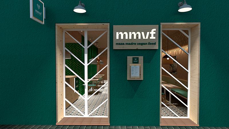 Fachada restaurante Masa Madre