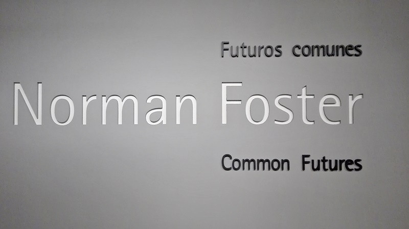 Exposición Norman Foster en Madrid