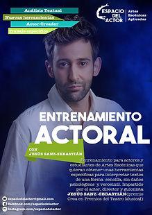 Entrenamiento Actoral con Jesús Sanz-Sebastián