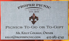 Proper Picnic business card