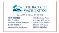 Bank of Wa biz card
