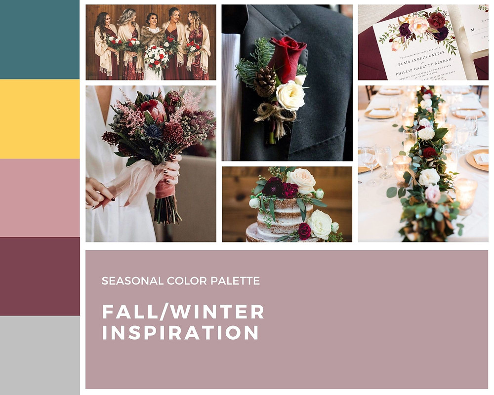fall winter wedding inspiration