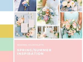 How to create the color palette for your wedding