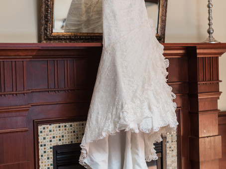Should you borrow your wedding dress?