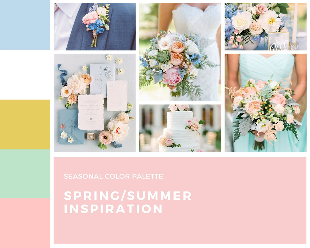 spring summer wedding inspiration