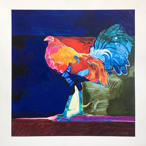 """Rooster (Gallo)"" by John Nieto"