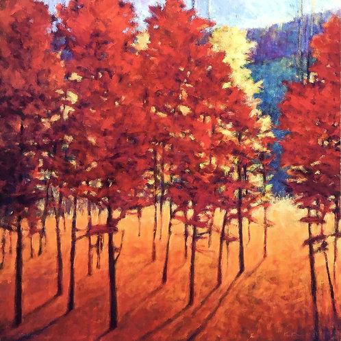 Red Forest by Ken Elliott