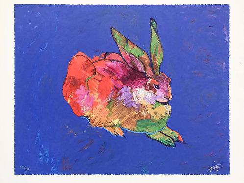 """Rabbit (After Durer)"" by John Nieto"