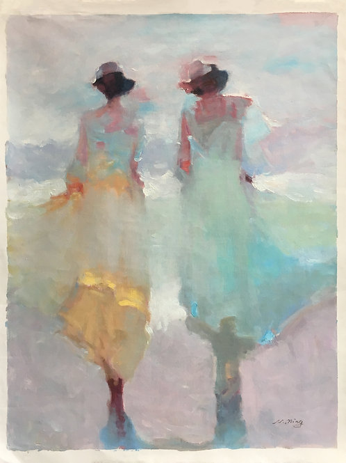 """Pastel Pair"" by N. Ming"