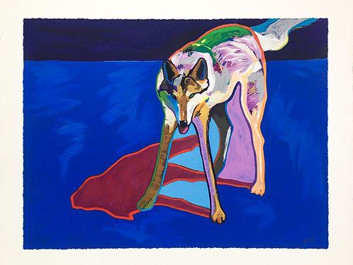 """Wolf 1999 (Embellished)"" by John Nieto"