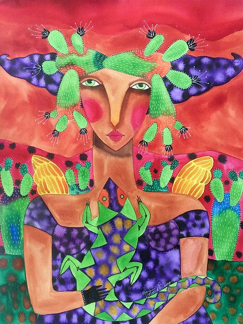 """""""El Angel de la Selva"""" by Hortensia Bueno"""