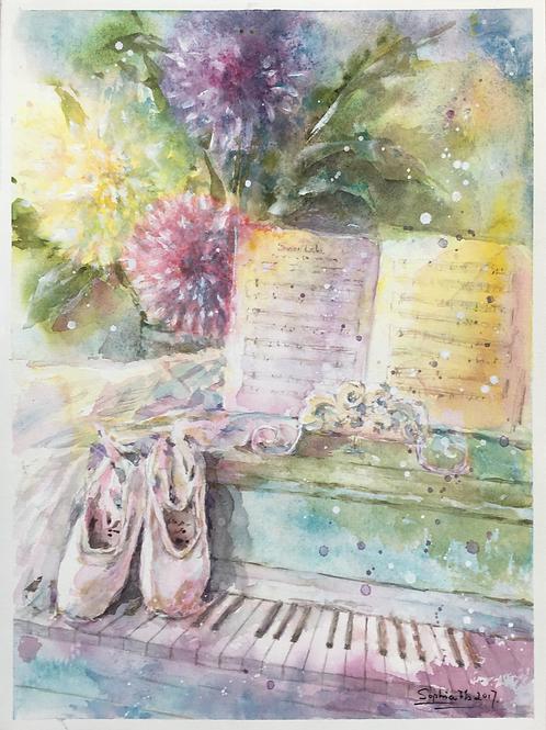 """""""Swan Lake"""" by Sophia Browning"""