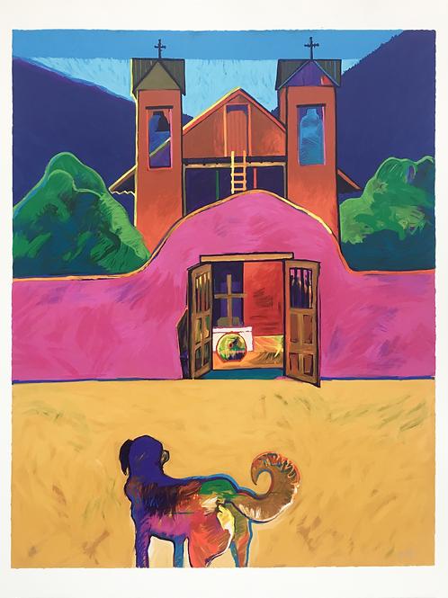 """""""Santuario De Chimayo"""" by John Nieto"""