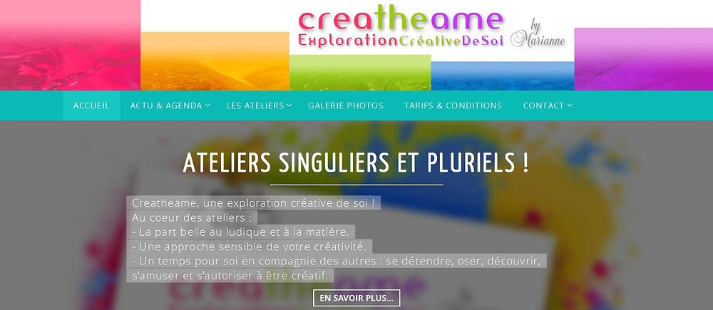 Creatheame, ateliers créatifs Yvelines, Paris, Province