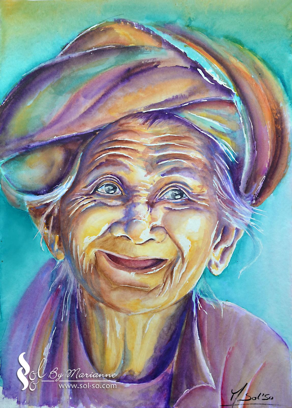 Mamina (aquarelle)