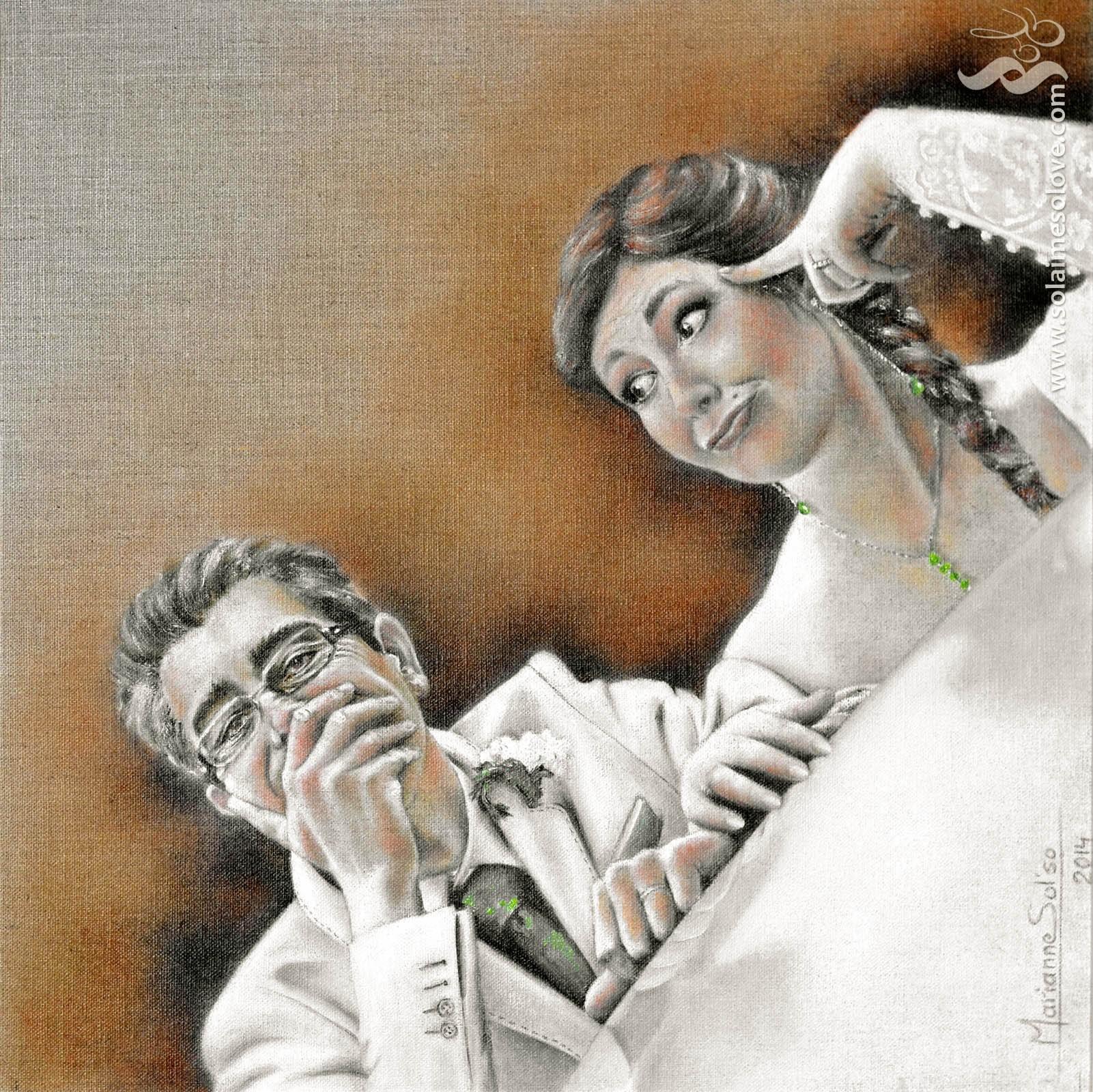 D'amour et d'humour (huile)