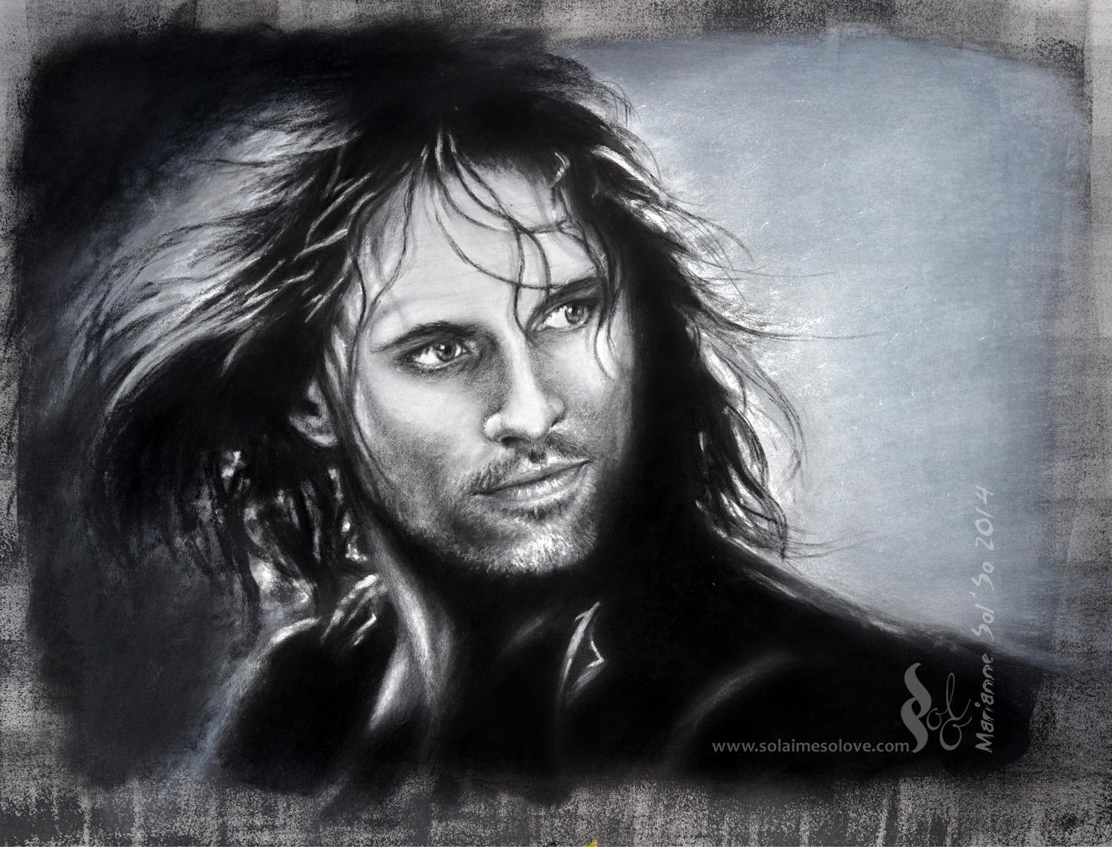 Pastel - Aragorn