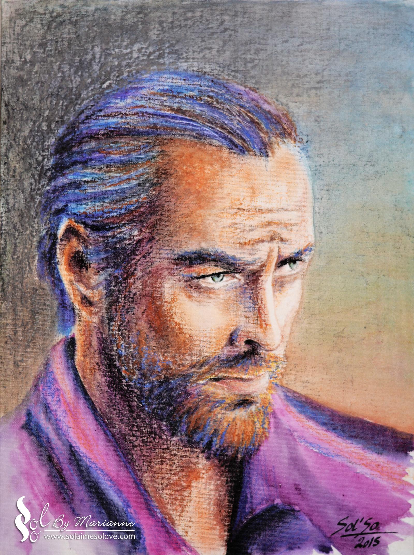 Toby Flint (pastels, encres, toile)