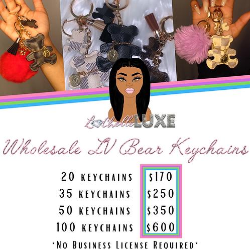 Wholesale LV Bear Keychains