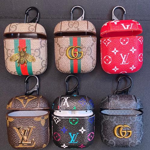 Gucci & LV Clip Airpod I Case
