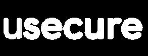 usecure Logo - White - Transparent Backg