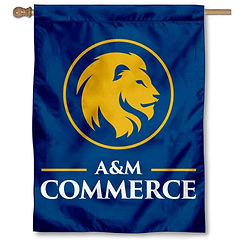 banner_flag_for_texas_a_m_commerce_lions