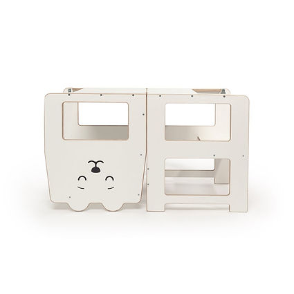Wooden Montessori Cat Learning Tower