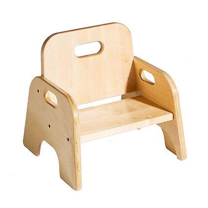 Wooden Kindergarten Furniture Children's Chair Trumpet