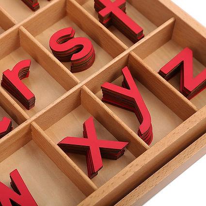 Montessori Language Training Toys